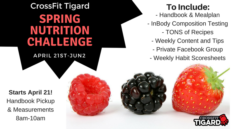 Spring Nutrition Challenge