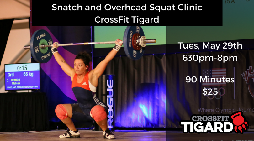 Snatch Clinic – May 29th