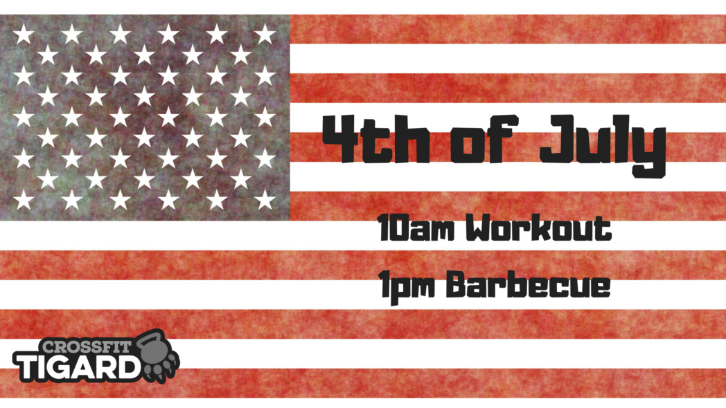 4th Of July Workout and Barbecue