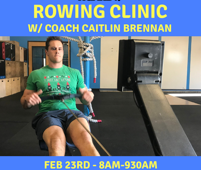 Rowing Clinic – Feb 23rd