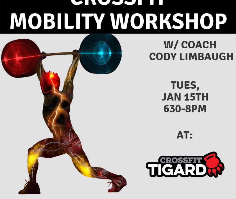Mobility Workshop – Jan 15th