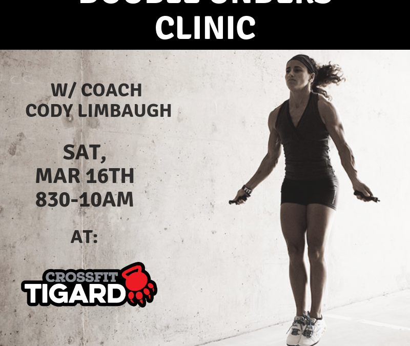 Double Unders Clinic at CrossFit Tigard PAW