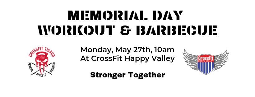 Memorial Day Workout